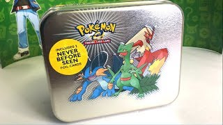 OPENING RARE VINTAGE POKEMON CARDS TIN!