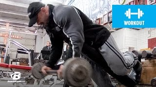 Branch Warren's Brutal Arm Workout | 2011 Road to the Arnold (HD)