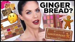 TOO FACED GINGERBREAD SPICE PALETTE | WORTH THE HYPE???