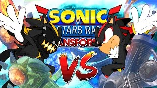 TOUR CHALLENGE!!! | twomanyraptors Vs. Shadow the Hedgehog // Sonic and All-Stars Racing Transformed