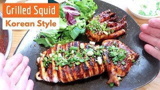 How to make Korean-Style Grilled Squid