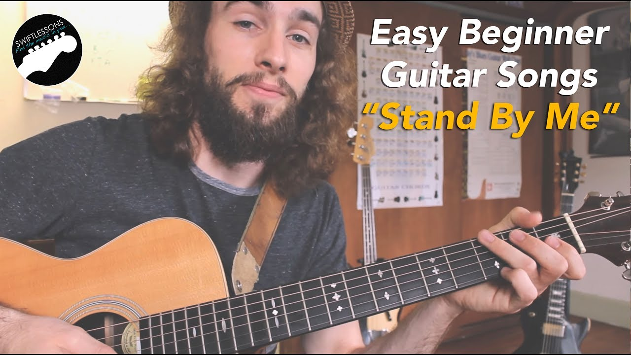 easy guitar songs for beginners stand by me youtube. Black Bedroom Furniture Sets. Home Design Ideas