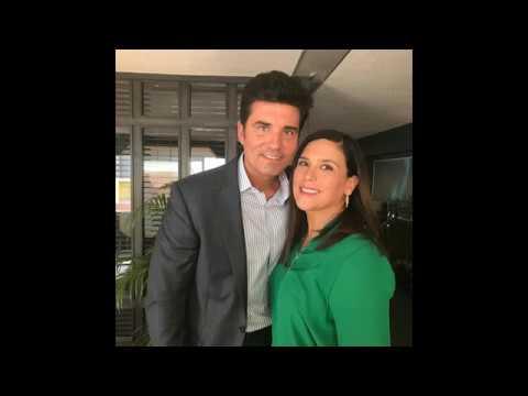 Primera foto de Angélica Vale y Diego Olivera, protagonistas telenovela Y mañana será otro día