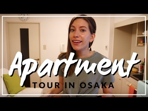 Japanese Apartment Tour in Osaka, Japan
