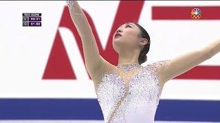 2016 NHK Trophy - Mirai Nagasu FS NBC HD