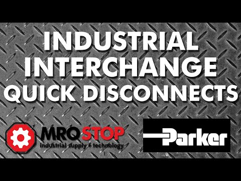 Parker Industrial Interchange Quick Disconnects