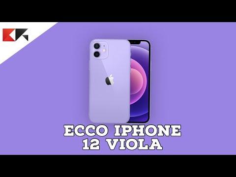 VI MOSTRO iPhone 12 Viola: BELLISSIMO!