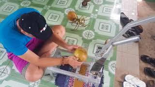 máy gọt dừa 1 phút 1 trái
