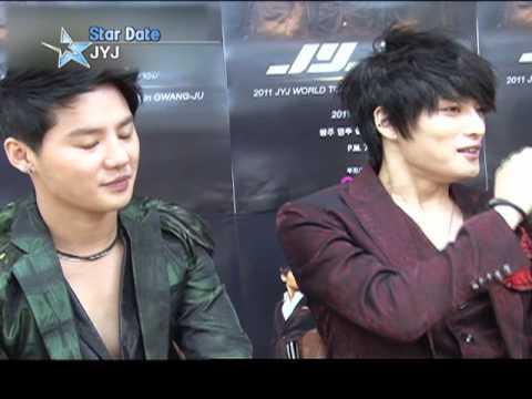 [Star Date] JYJ at Gwangju concert