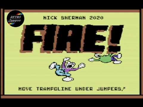 RETROJuegos Homebrew ... FIRE © 2020 Arla Games para Commodore 64