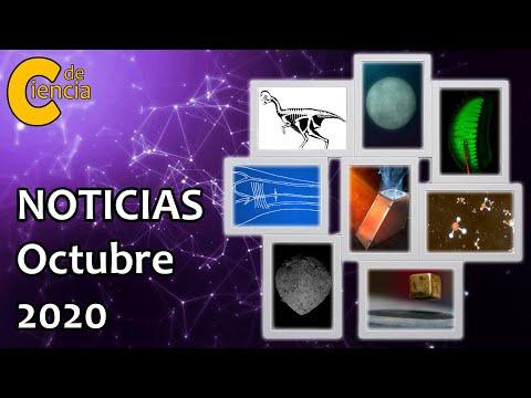 Noticias científicas octubre 2020