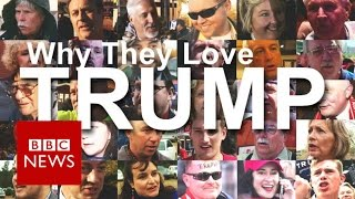 Donald Trump: 50 supporters explain why they love him - BBC News