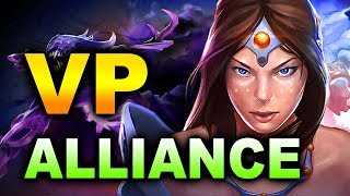 VP vs ALLIANCE - KUALA LUMPUR MAJOR - GROUP D DOTA 2 - YouTube