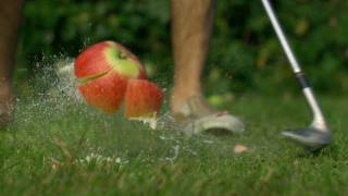 Apple Golf - The Slow Mo Guys