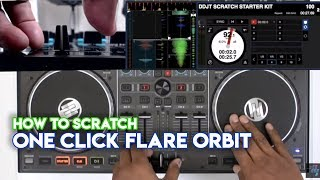 How To Scratch Using DJ Controllers: One Click Flare Orbit