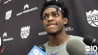 De'Aaron Fox dishes on Buddy Hield's contract extension, previews Kings season opener vs. Suns
