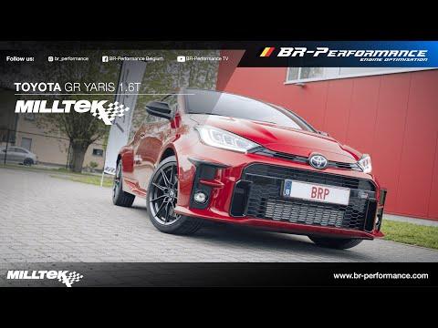 Toyota GR yaris / Milltek Exhaust Installation By BR-Performance