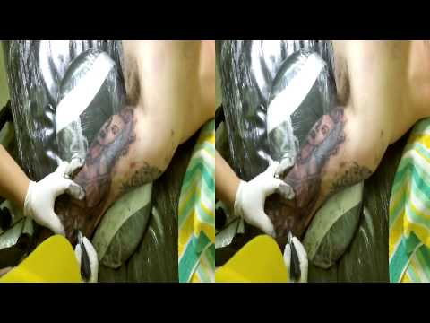 Medusa tattoo Shading with 30Mag in 3d Sbs by Fluntboy (toshiba Camileo Z100)