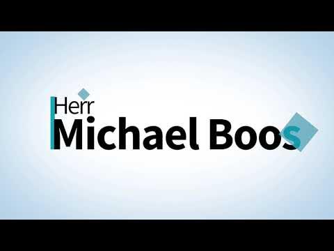 Herr Michael Boos spricht über die jetzige Lage