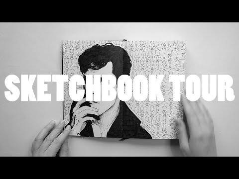 Completed Moleskine Sketchbook #3