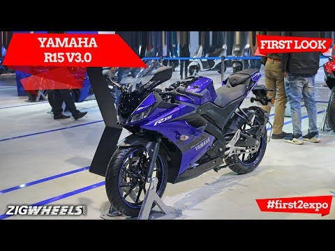 Yamaha R15 V3.0 At Auto Expo 2018: Detailed First Look