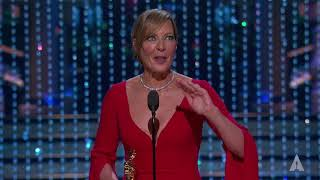 Allison Janney wins Best Supporting Actress
