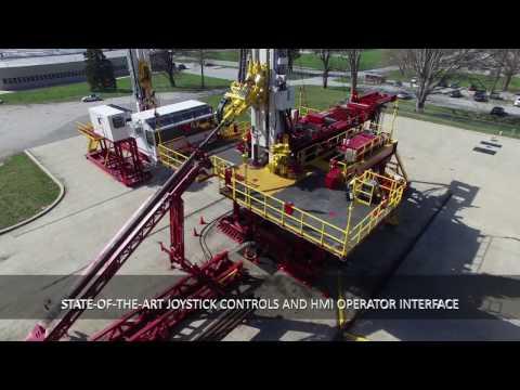 Schramm T500XD Pad Drilling Rig Video: Henderson Rigs & Equipment