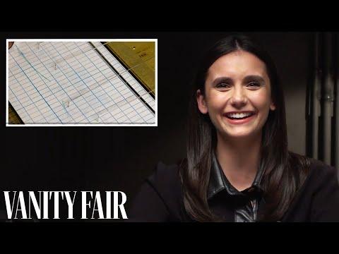 Nina Dobrev Takes a Lie Detector Test with Luke Bracey   Vanity Fair