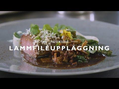 Matlagningstips från Jakob Kofoed - Lammfiléuppläggning