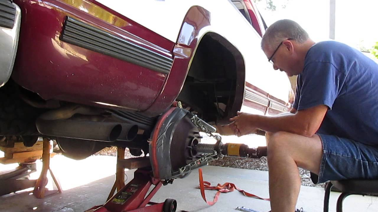 Removing a Stubborn Brake Drum from a 1995 Chevy K-2500 ...