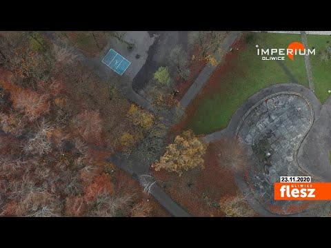 Flesz Gliwice / Nie chcą osiedla w miejscu Zameczku Leśnego