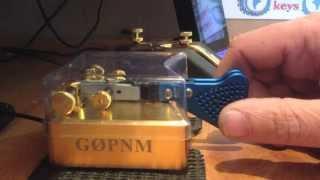 Begali Simplex Mono CW Key demo - G0PNM