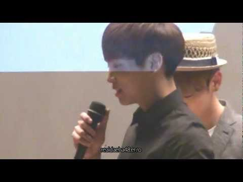 120627 SHINee Jonghyun - Jonghyun meets fanboy! [I AM.] in Nowon (2nd time)