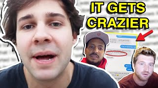 DAVID DOBRIK ADDRESSES ALLEGATIONS AGAINST HIM WITH TEXT MESSAGES