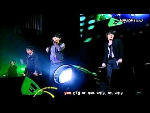 JYJ - Empty LIVE [with lyrics]