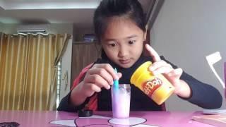 Hương Giang hướng dẫn làm Slime tại nhà