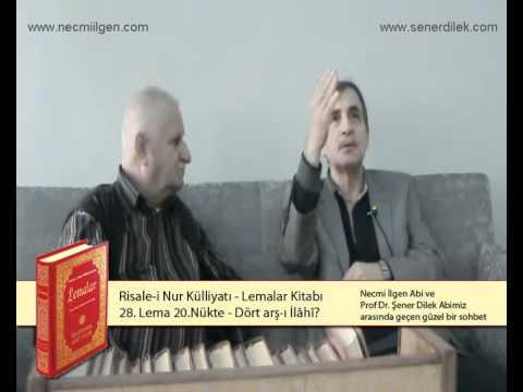 Necmi Ilgen vae Prof Dr Sener Dilek 28 Lema 20 Nükte