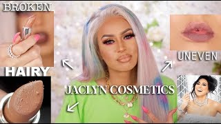 Jaclyn Hill Cosmetics Lipstick Review: A BROKEN, HAIRY MESS!
