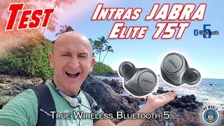Vidéo-Test : TEST : Intras JABRA Elite 75T ! (True Wireless)