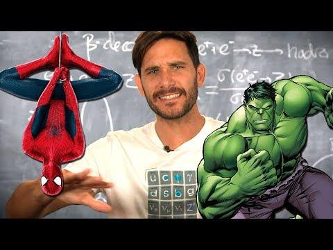 Superhéroes y radioactividad