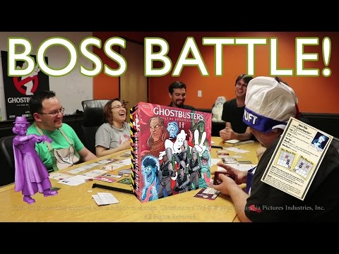 Ghostbusters: The Board Game II Gameplay Session