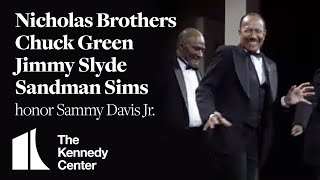 Nicholas Brothers, Chuck Green, Jimmy Slyde, Sandman Sims (Sammy Davis Jr. Tribute) - 1987 Honors
