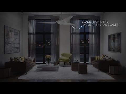 Kichler Ceiling Fan Fast Facts - Blade Pitch & Airflow Efficiency