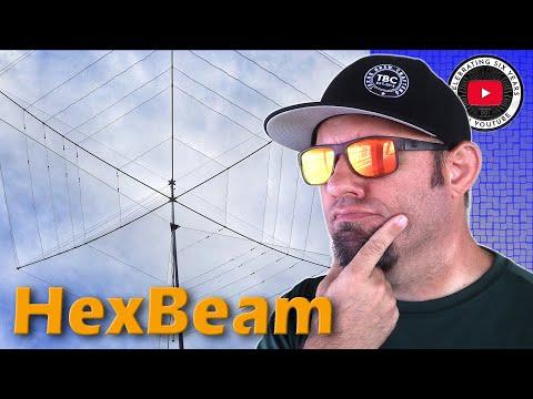 Building the BuddiHex Hexbeam   Best Portable Ham Radio Antenna