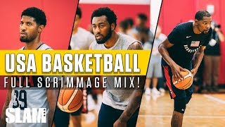 Kevin Durant & Team USA SHINE at Training Camp: Full Scrimmage | SLAM Highlights