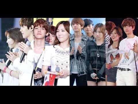 Compilation of EXO Baekhyun & SNSD Taeyeon Best Moments