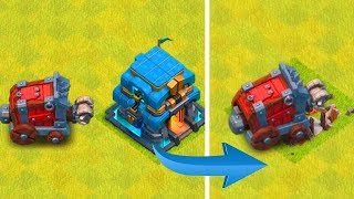 """IT ACTUALLY WORkS!?!? """"Clash Of Clans"""" WALL WRECKER DESTROYS TOWN HALL"""