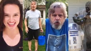 Star Wars Cast Get Wet For ALS Ice Bucket Challenge