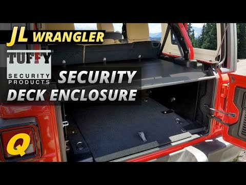 Tuffy Security Deck Enclosure Review for Jeep Wrangler JL