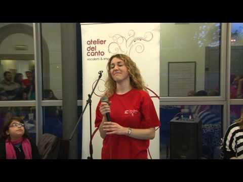 Giornata Mondiale della Voce, World Voice Day 2015 | Esibizione Giulia Carcano